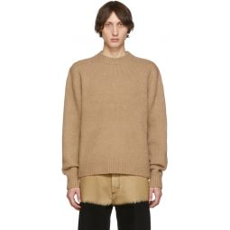Brown Wool Cashmere Sweater