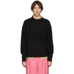 Black Wool Cashmere Sweater