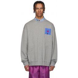 Grey Forba Flag Face Sweatshirt