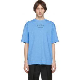 Blue Video Print Erian T-Shirt