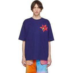 Blue Flower Erian T-Shirt