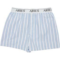 Blue Wide Stripe Boxers