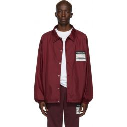 Red Stereotype Coach Jacket
