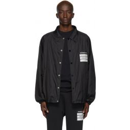 Black Stereotype Coach Jacket