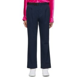Blue Belt Trousers