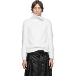 Off-White Knit Turtleneck