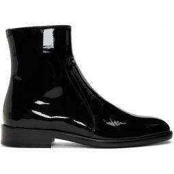 Black Patent Sirya Boots