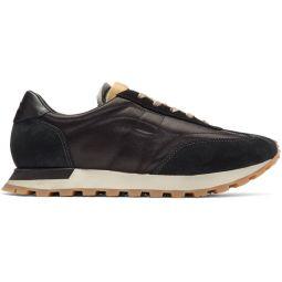 Black Runner Sneakers