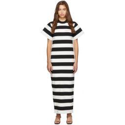 Black & White Striped Chynatown Dress