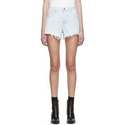 Blue Denim Bite Shorts