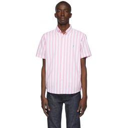 Pink & White Classic Stripe Shirt