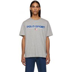 Grey Icon Logo T-Shirt