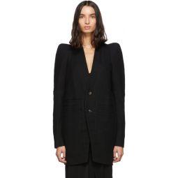 Black Zionic Tailored Coat