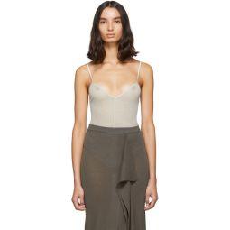Grey Sally Bodysuit