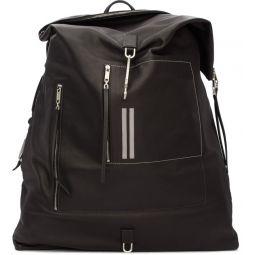 Black Midi Mega Duffle Bag