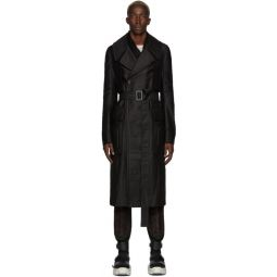 Black Drella Trench Coat