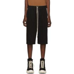 Black Drawstring Karloff Boxer Shorts