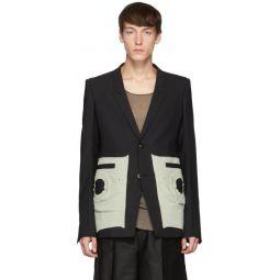 Black Extreme Soft Blazer