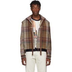 Brown Tweed Short Jacket