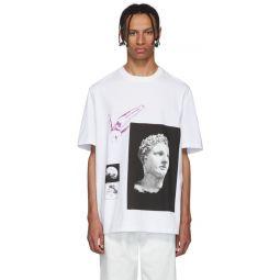 White Multi Graphic T-Shirt