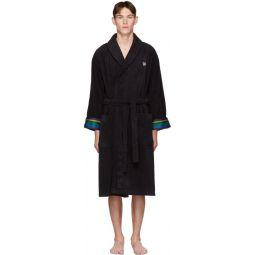 Black Zebra Dressing Gown