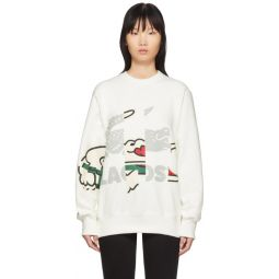 Off-White Crocodile Print Sweatshirt