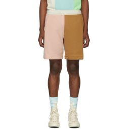 Pink & Brown Golf le Fleur* Edition Bermuda Shorts