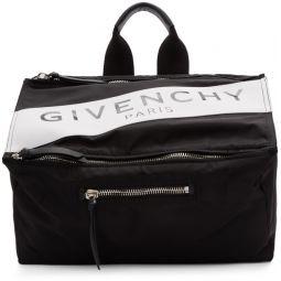 Black Paris Pandora Messenger Bag