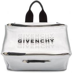 Silver Pandora Messenger Bag