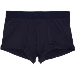 Navy Micro Low-Rise Boxer Briefs