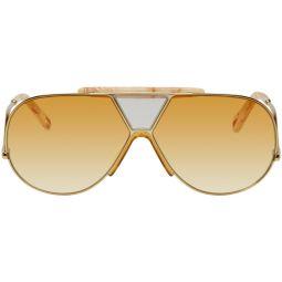 Gold Willis Sunglasses