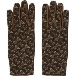 Brown Monogram Classic Gloves