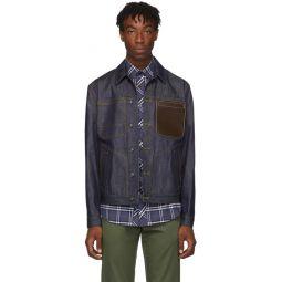 Blue Denim Spencer Jacket