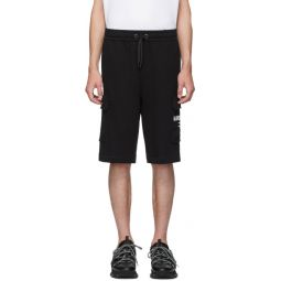 Black Logo Ailford Shorts