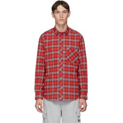 Red Check Classic Long Sleeve Shirt