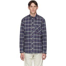 Blue IP Check Classic Shirt