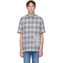 Blue Vintage Check Oversized Sandor Shirt