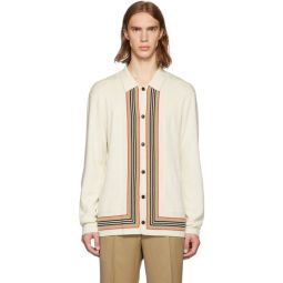 Off-White Knit Lachlan Cardigan