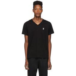 Black Marlet V-Neck T-Shirt