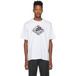 White Logo Ellison T-Shirt