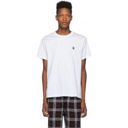 White Monogram Parker T-Shirt
