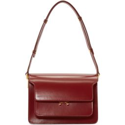 Red Medium Trunk Bag