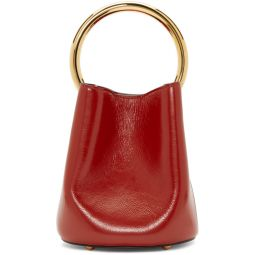 Red Pannier Bucket Bag