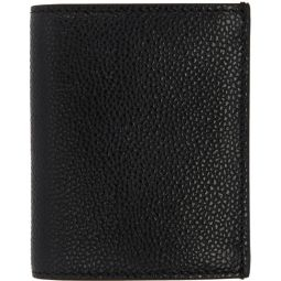 Black Double Card Holder