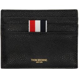 Black Note Compartment Card Holder