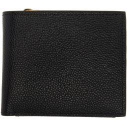 Black Billfold Fold Out Wallet