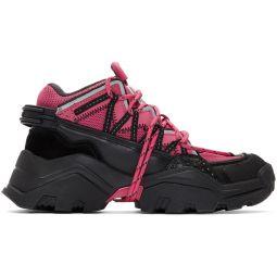 Pink & Black Inka Sneakers