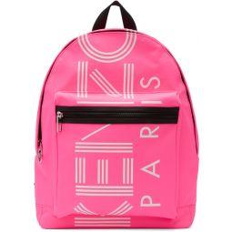 Pink Logo Backpack