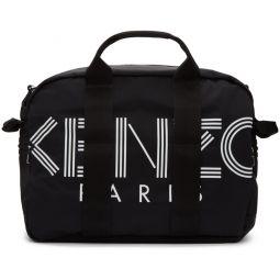 Black Logo Duffle Bag