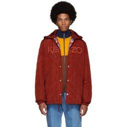 Reversible Red Kenzo World Jacket